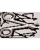 Nožnice na kožičku 20-1060